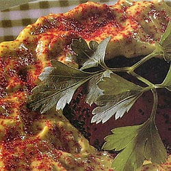 Bagel-guacamole