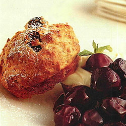 Muffin-creme-cerises