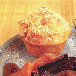Recette de muffins tièdes à l'orange