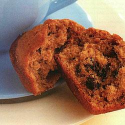 Recette de muffins à l'avoine et raisins